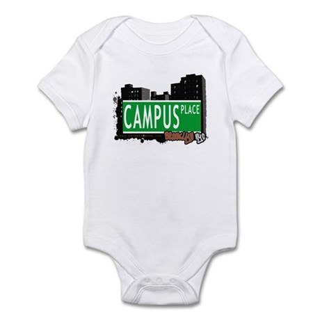 CAMPUS PLACE, BROOKLYN, NYC Infant Bodysuit