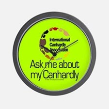 Ask me... Canhardly Wall Clock