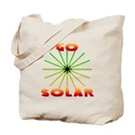 Go Solar Sunburst Reusable Tote Bag