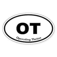 OT Operating Thetan Oval Decal