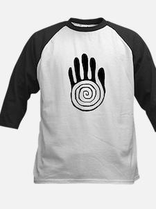 Sacred Hand in Black - Kids Baseball Jersey