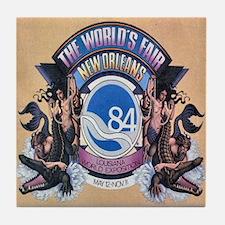 Worlds Fair 84 Tile Coaster