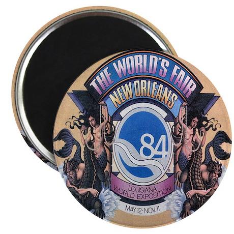 Worlds Fair 84 Magnet