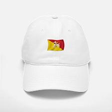Sicily Sicilia Sicilian Flag Baseball Baseball Cap