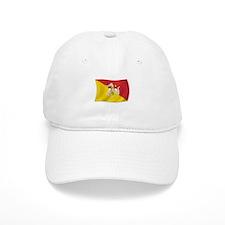 Sicily Sicilia Sicilian Flag Baseball Cap