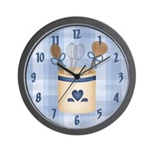Kitchen Utensils Wall Clock