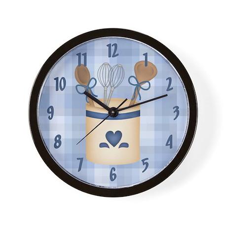 Kitchen Utensils Wall Clock