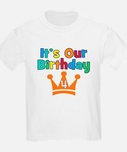 It's Our Birthday (4) T-Shirt