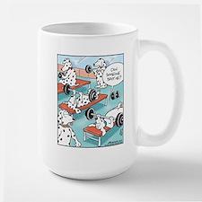 Dalmatians Weight Training Mug