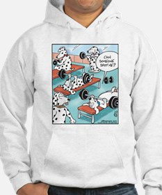 Dalmatians Weight Training Hoodie