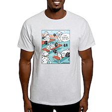 Dalmatians Weight Training T-Shirt