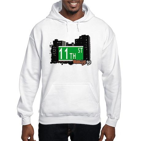 11th STREET, BROOKLYN, NYC Hooded Sweatshirt
