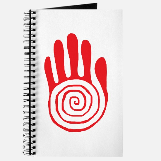 Sacred Hand in Red - Journal