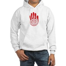 Sacred Hand in Red - Hoodie