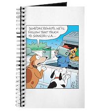 Dogs love Garbage Trucks Journal