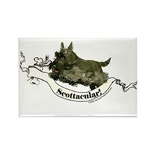 Spectacular Scottish Terrier Rectangle Magnet (10