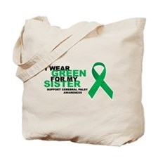 CP: Green For Sister Tote Bag