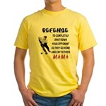 DEFENSE Yellow T-Shirt