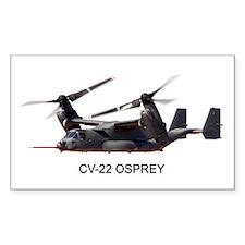 CV-22 OSPREY Rectangle Decal
