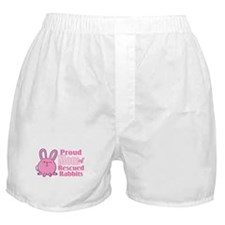 Rescued Rabbits Mom Boxer Shorts