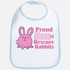 Rescued Rabbits Mom Bib