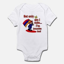 Not only am I cute I'm Armenian too! Infant Bodysu
