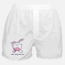 Some Bunny Loves Me Boxer Shorts