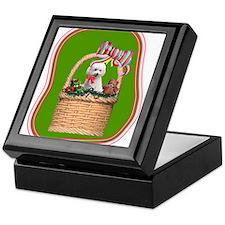 Christmas Bichon Keepsake Box