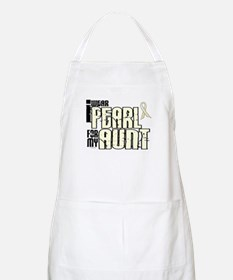I Wear Pearl For My Aunt 6 BBQ Apron