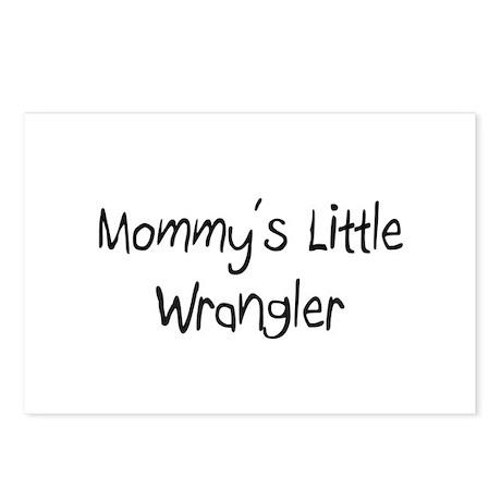 Mommy's Little Wrangler Postcards (Package of 8)