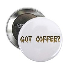 """Caffeinated! 2.25"""" Button (100 pack)"""