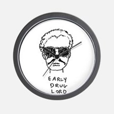 """Early Drug Lord"" Wall Clock"
