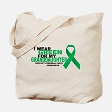 CP: Green For Granddaughter Tote Bag
