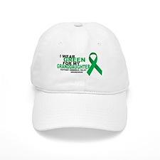 CP: Green For Granddaughter Baseball Cap