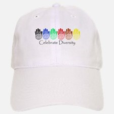 Celebrate Diversity Rainbow Hands Cap