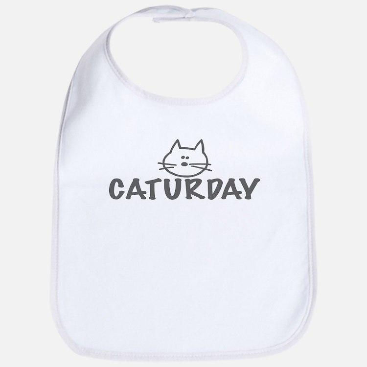 Caturday Bib