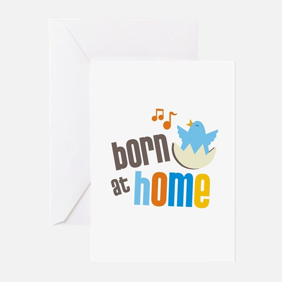Born at Home greeting cards (pk of 10)