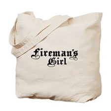 Fireman's Girl Tote Bag