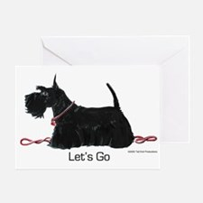 Scottie Let's Go! Greeting Card