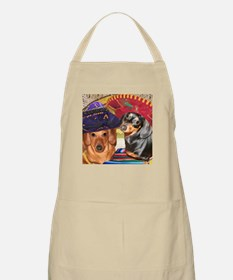 Mexican Dachshund Dogs BBQ Apron