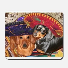 Mexican Dachshund Dogs Mousepad