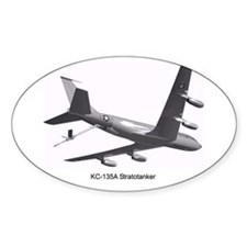 KC-135 Stratotanker Oval Decal