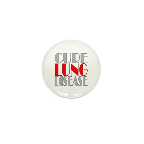 Cure Lung Disease Mini Button (100 pack)