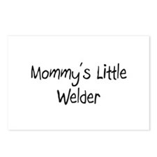 Mommy's Little Welder Postcards (Package of 8)