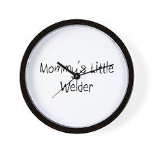 Mommy's Little Welder Wall Clock