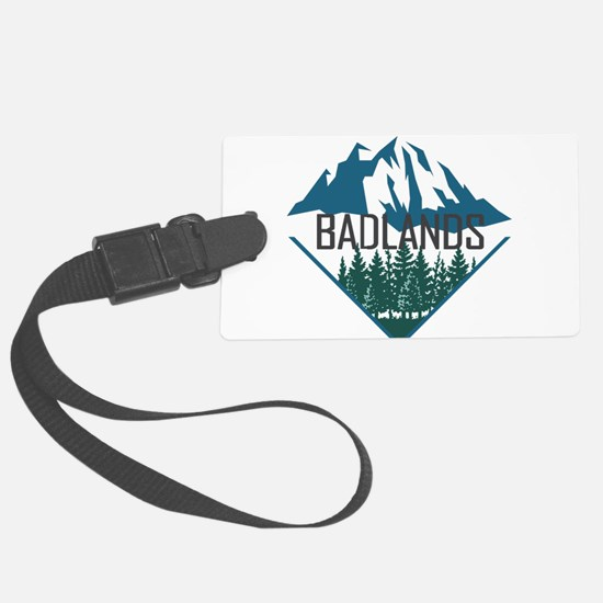 Badlands - South Dakota Luggage Tag