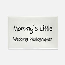 Mommy's Little Wedding Photographer Rectangle Magn