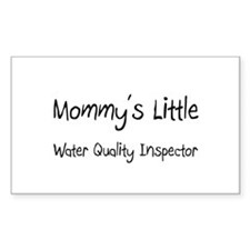 Mommy's Little Water Quality Inspector Decal