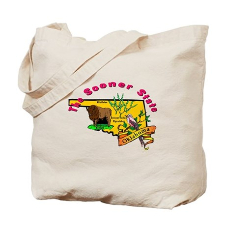 """Oklahoma Pride"" Tote Bag"