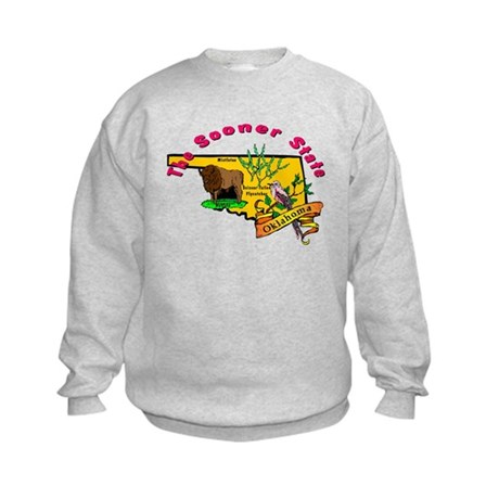 """Oklahoma Pride"" Kids Sweatshirt"